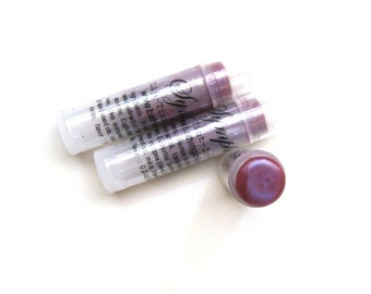 Radiant orchid Symphony v2  - Sheer Lip Tint - Iridescent with pink violet blue undertone Semi-Matte
