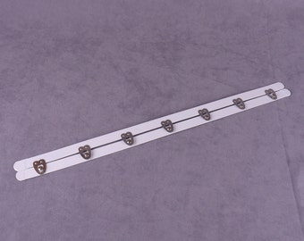 White Metal Busk - 14 inches (MBK14W-1)