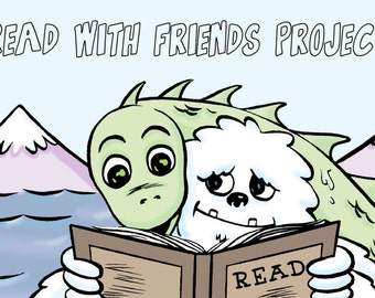 Read With Friends 100 Bulk Book marks To Give Away at Your Public LIbrary or School Library