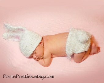 Baby Bunny CROCHET PATTERN 0 to 3 months 3 to 6 months