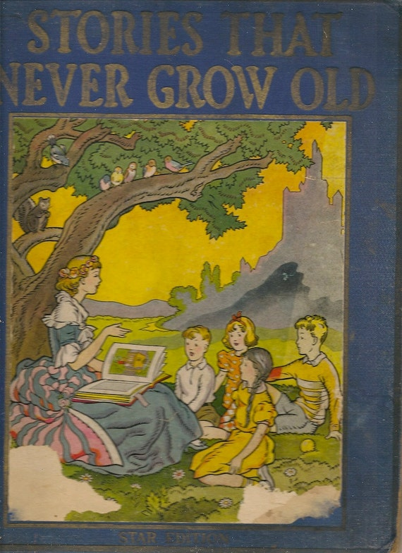 VINTAGE KIDS BOOK Stories That Never Grow Old Star Edition