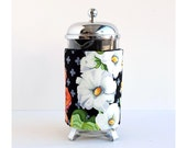 The Original French Press Coffee Cozy - Big Flowers Style -