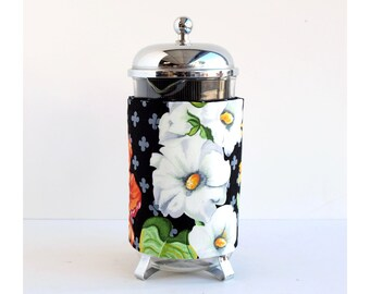 Bodum French Press Coffee Cozy - Big Flowers Style -