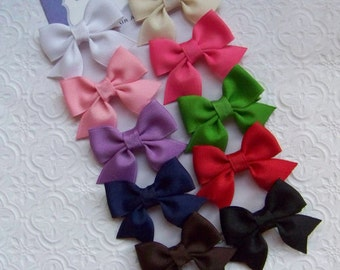 Starter Colors Petite Bow Set of 10