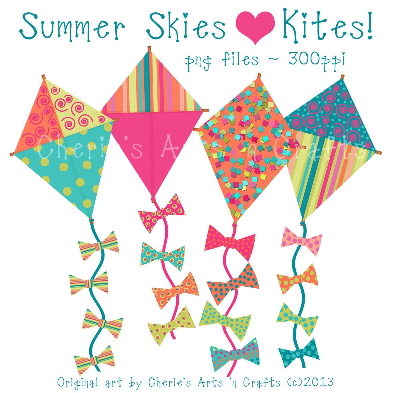 Clip Art Of Kites