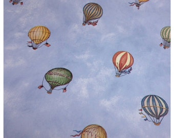 Hot Air Balloon Wallpaper-Scrapbooking-gift wrap-decor
