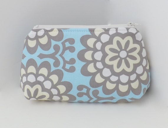 Make Up Bag, Cosmetic Pouch, Zippered Pouch - Wallflower