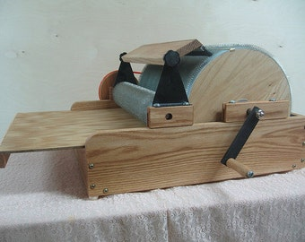 Fancy Kitty LITTLE TOM XL (wide)  Cottage Industry Drum Carder (Free Shipping)