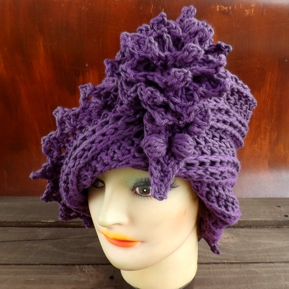 Crochet Pattern Womens Crochet Hat Pattern by ...