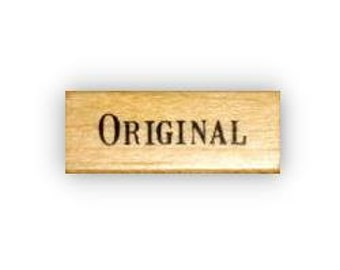 ORIGINAL mounted rubber stamp No.15