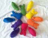 Easter Bunnies and Chicks Squeak toys