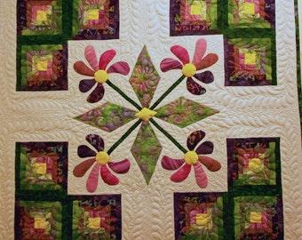 Prairie Blooms Quilt Pattern