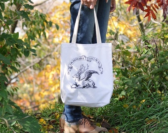 Imaginary Animal Recycled Canvas Logo Tote