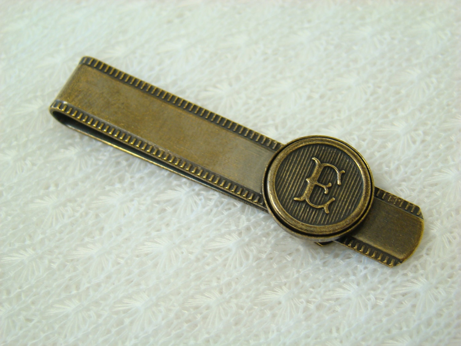 personalized tie clip retro style choose any by