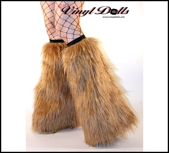 items similar to light brown fluffies fuzzy leg