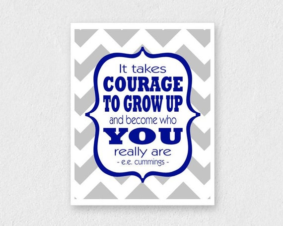 Items Similar To Boy Nursery Art Inspirational Quote For