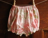 baby bloomers, vintage pink size 1
