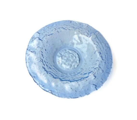 Glen Lukens Modernist Textured Art Glass Bowl