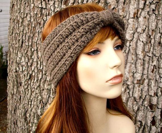 Download Crochet Pattern - Crochet Headband Pattern - Turban Headband ...