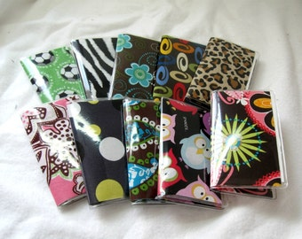 Business Card Holder Grab Bag - Qty 10 - Mini Wallets - Wholesale Pricing - Shower Gifts - Party Favors - Resale - Mystery Listing HALF OFF