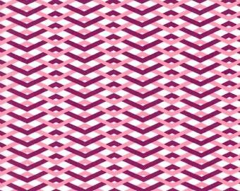 Emily Herrick, Technicolor, Braid Wine Fabric - Half Yard