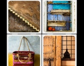 Eyeshoot Earthtone Morocco Ceramic Coaster Set