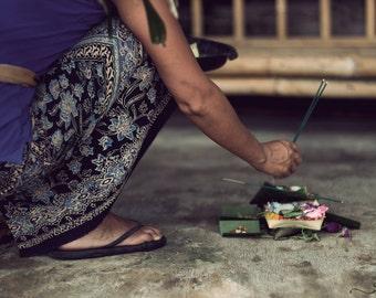 Offerings In Bali