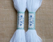Olympus Sashiko EMBROIDERY THREAD - White (01)