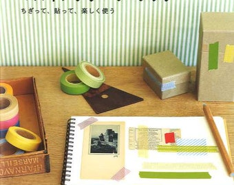 Masking Tape Book - Japanese Craft Book