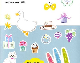 Illustration Book for Sign Pen - Japanese Book
