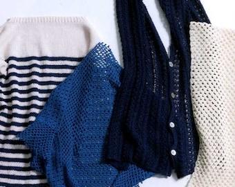 Kazekobo's Summer Knit and Crochet Patterns - Japanese Craft Book