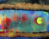 """Original Painting by Terrie Boruff Yeatts, Between Worlds abstract 20""""x20"""" Original - TerrieBoruffYeatts"""