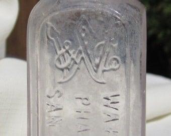 Antique, San Francisco California Medicine Bottle (Amethyst277)