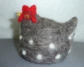 Dorian the Hen egg cosy