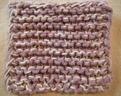 lilac cotton dish sponge
