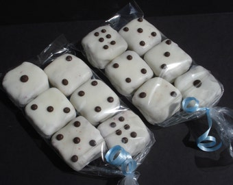Cake Balls: Edible Dice for your High Roller Bunco Player or 21st Birthday Gift