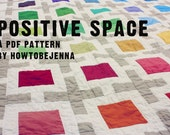 Custom Order - Positive Space Quilting Pattern