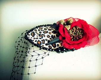 Dancing Girl - OOAK  hairband - Ready to ship xx