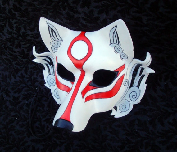 Japanese wolf mask - photo#15