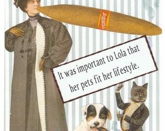 Whimsical Pet greeting card