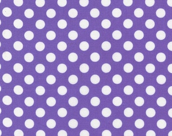 Robert Kaufman Spot On in violet, half yard