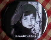 Custom/Personalized Child Photo Magnet. Your photo and text  3 inch mylar