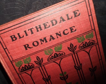 Blithedale Romance Book
