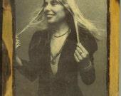 Joni Mitchell - Blue Period - Wooden Plaque