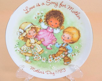 Vintage Avon Plate Mothers Day Plate Collectible Plates 1983