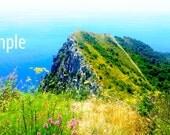 Capri Anacapri Overlook - Digital Image