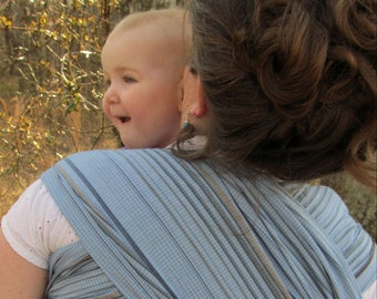 Baby Wrap Sling - Woven Cotton Blend - Wide non stretchy - includes DVD