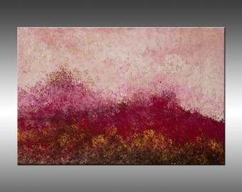 Red Rocks - Painting Art Abstract Painting Paintings Large Textured Canvas Wall Art Original Abstract Painting, Contemporary, Modern