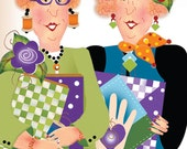 Magnet - QUILTING SISTERS