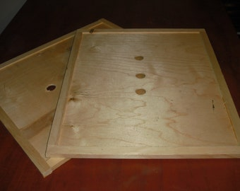 BEE HIVE Wooden Inner Cover Assembled